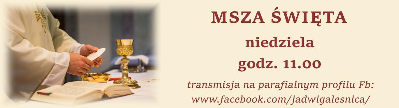 transmisja mszy św.